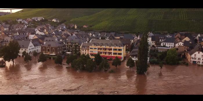 Hochwasser Mosel